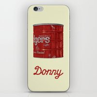 lebowski iPhone & iPod Skins featuring The Lebowski Series: Donny by Bubblegun