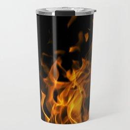 Fire in the dark Travel Mug