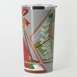 Geometric Terrarium Travel Mug