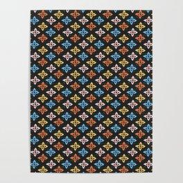 Las Flores 01 (Patterns Please) Poster