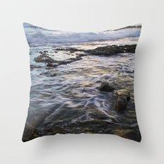 Evening in San Pedro, California Throw Pillow