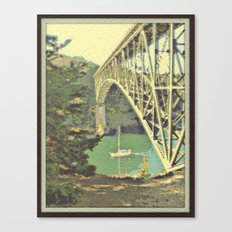Navigating Deception Pass Canvas Print