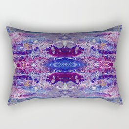 Psycho - Colorful Parallel Universes Encompassing Us All by annmariescreations Rectangular Pillow