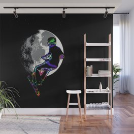 Moonlit Scooter Champ Wall Mural