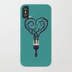 Paint Your Love Song Slim Case iPhone X