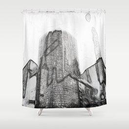 New York Facades #2 Shower Curtain