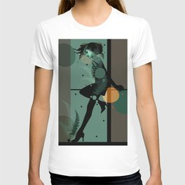The Girl and the Moon T-shirt