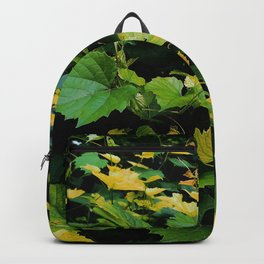 Wild Grape Leaves Backpack