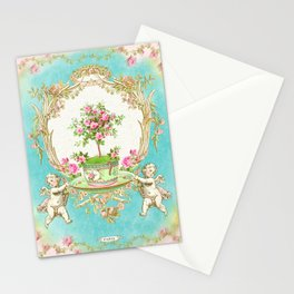 French Baroque Patisserie Tea Stationery Cards