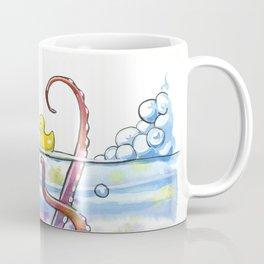 Bath Time Octopus Coffee Mug