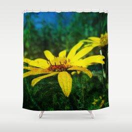 Juxtaposed Prairie Shower Curtain