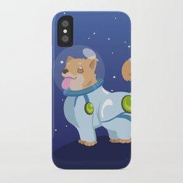 Corgis in Space iPhone Case