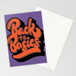 Back to Basics Stationery Cards