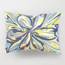 Fluid flower Pillow Sham