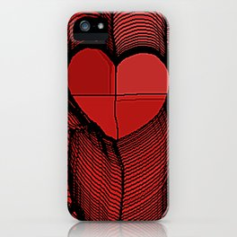 Meeting of Hearts - 3 iPhone Case
