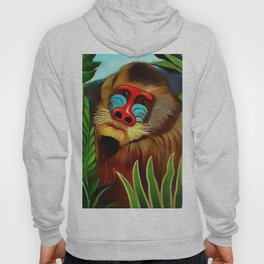 "Henri Rousseau ""Mandrill in the Jungle"", 1909 Hoody"
