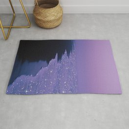 Purple magic Rug