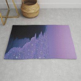 Purple magic Rug