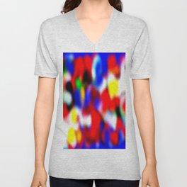 Nubosidad multicolor 22 Unisex V-Neck