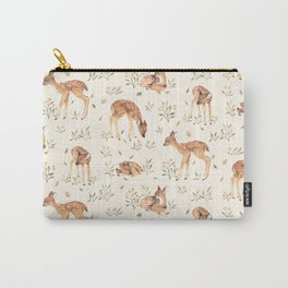 Wildflower Fawn Carry-All Pouch