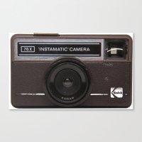 Instamatic Camera 2 Canvas Print