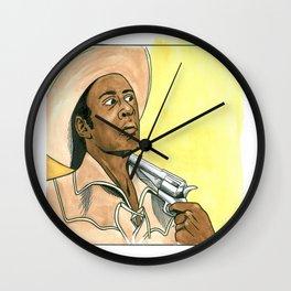 Blazing Saddles #1 Wall Clock