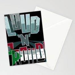 The Sudan Pride Loud N Proud Stationery Cards