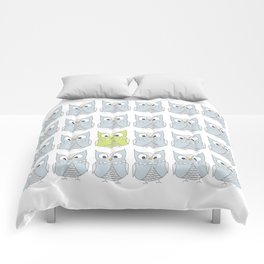 Owl be different Comforters
