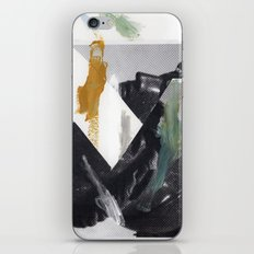 Untitled (Painted Composition 2) iPhone & iPod Skin