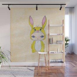 A Boy - Rabbit (coco lapin) Wall Mural