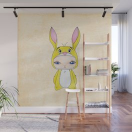 A Boy - Rabbit (coco lapin) Wall Mural
