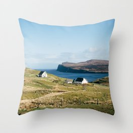 Island of Skye Throw Pillow