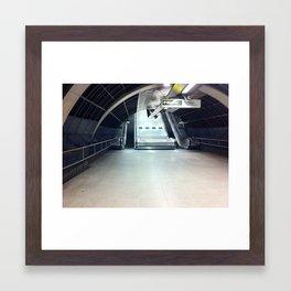 Where'd Everybody Go? Framed Art Print