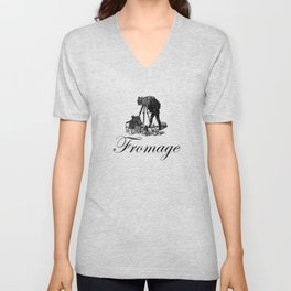 Say Fromage Unisex V-Neck