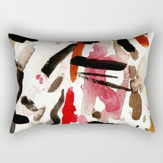 BLACK INVADERS Rectangular Pillow