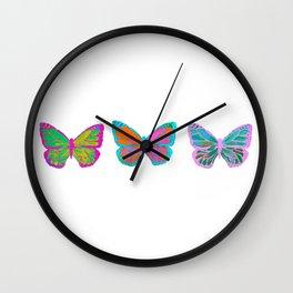 Retro Monarchs Wall Clock