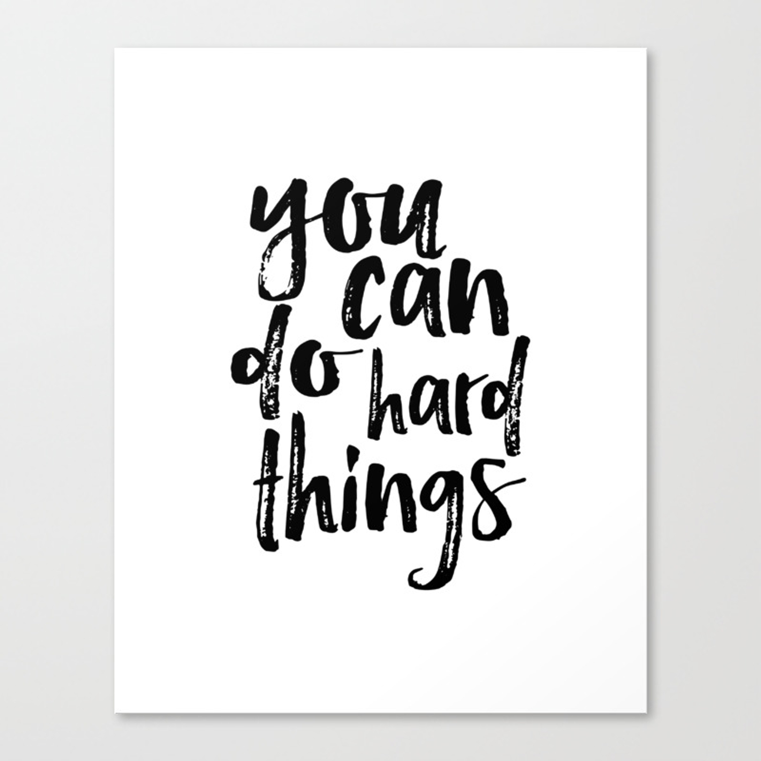 printable art you can do hard things gallery wall inspirational