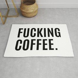 FUCKING COFFEE Rug