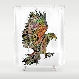 Kea New Zealand Bird Shower Curtain
