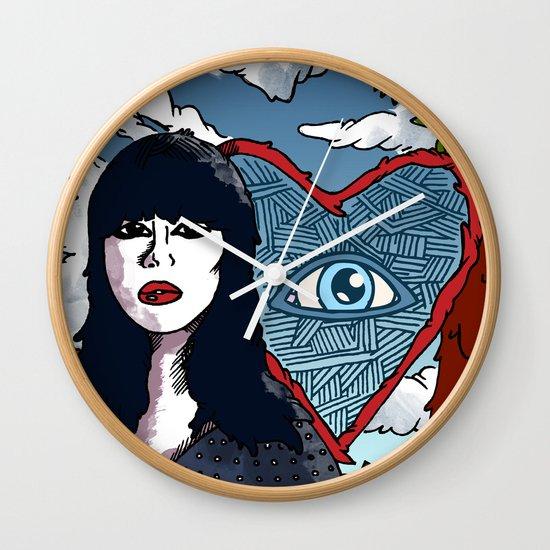 """Too True""  by Jacob Livengood Wall Clock"
