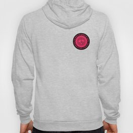 Shattered Hearts Badge Hoody