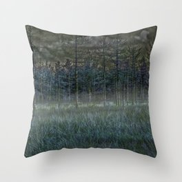 November mist- the time of souls Throw Pillow