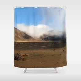 Tongariro Volcanic Landscape - New Zealand Shower Curtain