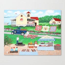 Aunt Abby's Apples Canvas Print