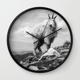 KING OF THE MOUNTAIN Wall Clock