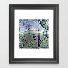 Dramatic overtones, implied, on simple structures. [EDIT] Framed Art Print