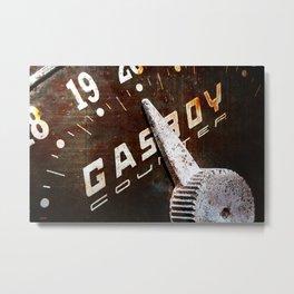 GASBOY Metal Print