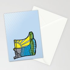 Rainy Day Boots Stationery Cards