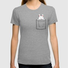 My Pet Womens Fitted Tee Tri-Grey MEDIUM