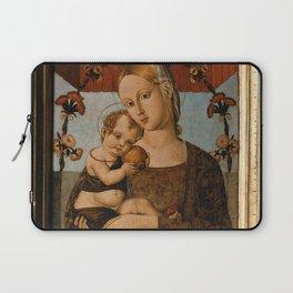 Bernardino di Mariotto - Virgin and Child Laptop Sleeve